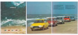 Brochure Publicitaire CITROEN GS  1970 - KFZ