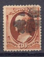 Etats Unis 1887 Yvert 68 Oblitere Alexander Hamilton - Gebruikt