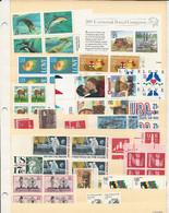 24844) USA Mint No Hinge ** $12 Face - Sammlungen