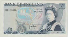 B00442 GRANDE-BRETAGNE - Bank Of England - 5 Pounds - Page - 5 Pounds