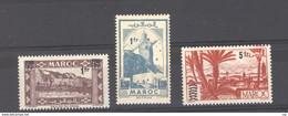 Maroc  :  Yv  296-98  ** - Unused Stamps