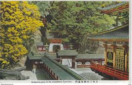 JAPON - JAPAN  - ASIE - ASIA -  Kokamon Gate, In The Mausoleum Of Yemitsu ( Dorure ) - Altri