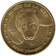 64-0745 - JETON TOURISTIQUE MDP - Biarritz Musée De La Mer -bébé Phoque - 2012.1 - 2012