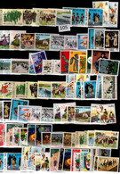 WHOLESALE 83 STAMPS MNH 1981 EUROPA CEPT MUSIC COSTUMES ART - Other