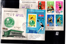 KOREA 2R COVERS IMPERF TABLE TENNIS SPORTS - Other
