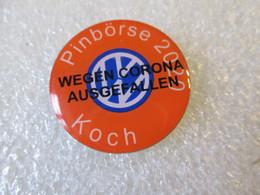 PIN'S    VOLKSWAGEN  PINBORSE   2020  KOCH - Volkswagen