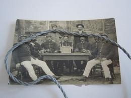 ALSACE Les Vieux De La Prévôté  12 Septembre 1915  7eme Légion  Carte Photo  (gendarmerie) Inscription Pandore Au Verso - Polizei - Gendarmerie