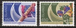 Ijsland  Europa Cept 1982 Postfris - Neufs