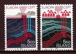 Ijsland  Europa Cept 1983  Gestempeld - Oblitérés