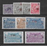 Guyane N°97/105 - Neuf ** Sans Charnière - TB - Unused Stamps
