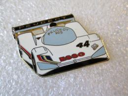 PIN'S    PEUGEOT   905  ESSO   Email Grand Feu  SEGALEN - Peugeot