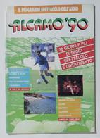 35832 Programma Manifestazione Alcamo '90 - Mondiali Italia '90 - Altri