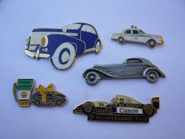 5 Pin S Automobile Diverses Tous 2 Attaches - Non Classificati