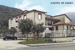 (R236) - CASTEL DI SASSO (Caserta) - Municipio - Caserta