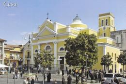 (R239) - CESA (Caserta) - Piazza De Michele E Chiesa Di San Cesario - Caserta
