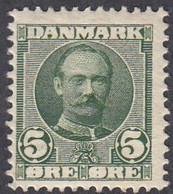 Denmark, Scott #72, Mint Hinged, Frederick VIII, Issued 1907 - Unused Stamps