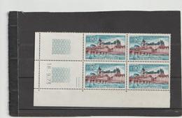 N° 1758 - 0,90 CHATEAU DE GIEN - 2° Tirage Du 11.9.73 Au 29.9.73 - 18.09.1973 - - 1970-1979