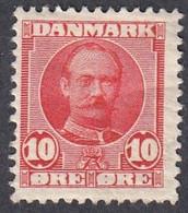 Denmark, Scott #73, Mint Hinged, Frederick VIII, Issued 1907 - Unused Stamps