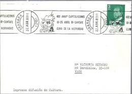 MATASELLOS 1981  HUELVA - 1981-90 Storia Postale