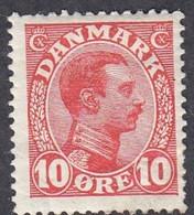 Denmark, Scott #100, Mint Hinged, Christian X, Issued 1913 - Ungebraucht