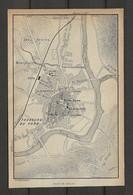 CARTE PLAN 1914 - MILLAU - LES GRAVES - MONTPLAISIR - FAUBOURG Du PONT - BANQUE De FRANCE - Carte Topografiche
