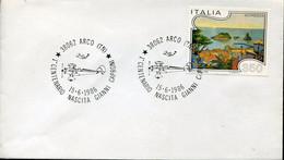 66887 Italia, Special Postmark ARCO 1986 1^cent.nascita Gianni Caproni,  Aereo Caproni - Altri