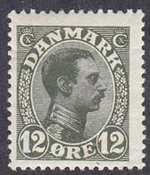 Denmark, Scott #101, Mint Hinged, Christian X, Issued 1913 - Ungebraucht