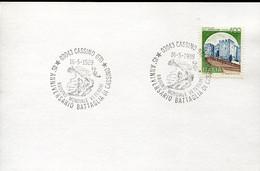 66889 Italia, Special Postmark Cassino, 1989, Anniversario Battaglia Di Cassino - Altri