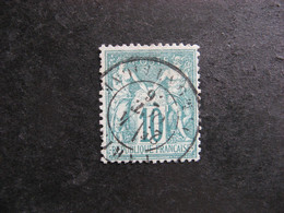 A).  TB N° 65, Oblitéré. - 1876-1878 Sage (Typ I)