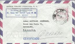 LETTER  EMA 1962 - Perù