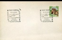 66890 Italia, Special Postmark  1985 Domodossola, 75^anniv. Volo Di Geo Chavez - Altri