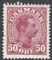 Denmark, Scott #120, Mint Hinged, Christian X, Issued 1913 - Ungebraucht