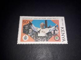 "REL06 KENYA 1980 VISITA PAPA GIOVANNI PAOLO II 50 C. ""XX"" - Kenya (1963-...)"