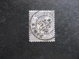 D). TB N° 66, Oblitéré. - 1876-1878 Sage (Typ I)
