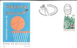 FDC ESPAÑA  1997 - Pallacanestro