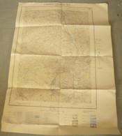Carte I.G.N. : SAINT-GERVAIS-les-Bains - 1/20 000ème - 1942. - Carte Topografiche
