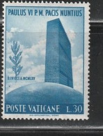 VATICAN 173 // YVERT 435 // 1965 - Nuovi