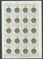 Yugoslavia 1968 ☀ Summer Olympic Games Mexico S/S ☀ MNH** - Estate 1968: Messico