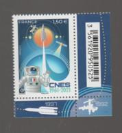 FRANCE / 2021 / Y&T N° 5526 ? ** : 50ème Anniversaire CNES X 1 BdF CdF Inf D Avec Code-barres - Ungebraucht