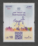 Egypt - 2021 - ( UN - World Tourism Day ) - MNH** - ONU