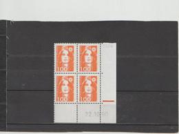 N° 2620 - 1F Marianne De BRIAT - 1 PHO - 3° Tirage/2° Partie Du 22.11 Au 26.11.90 - 1990-1999