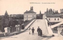 MANSLE - Vue Panoramique Du Pont - Mansle