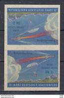 Duitsland 25 Jahre Deutscher Raketenflug XX Postfris Ongetand R - Europa
