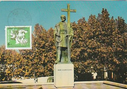 Portugal & Maximum Card, Palace Of The Dukes Of Bragança, Guimarães 1982 (938) - Monumenti