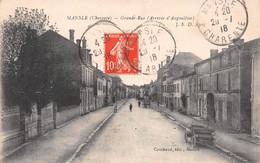 MANSLE - Grande Rue (Arrivée D'Angoulême) - Automobile - Mansle