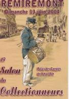 Carte Postale AFFICHE Du 15ème SALON Des Collectionneurs REMIREMONT; 2004 - Manifesti Su Carta
