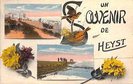 Heist - Heyst - Un Souvenir De (colorisée Multi-vues Oldtimer 1934) - Heist