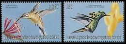 1875/1876** - Oiseaux / Vogels / Vögel / Birds - Colibris / Colibri's  - CONGO - Ongebruikt