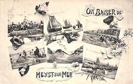 Heist - Heyst - Un Baiser De (multi-vues, Phototypie L. Collin 1912) - Heist