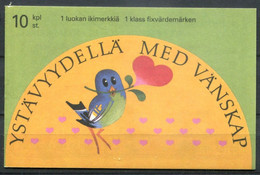 Finnland Finland Suomi Stamp Booklet 32 Postfrisch/MNH - Love Stamps - Unused Stamps